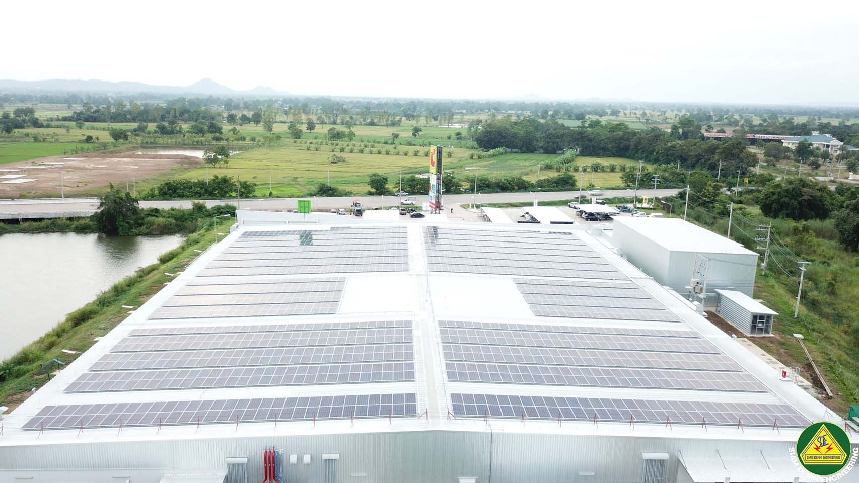BIG C Solar Rooftop Phase 2.1 (BWCR) Wichienburi Project