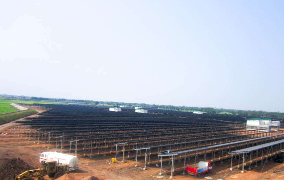 Solar Farm Siam Solar Power (8MW)